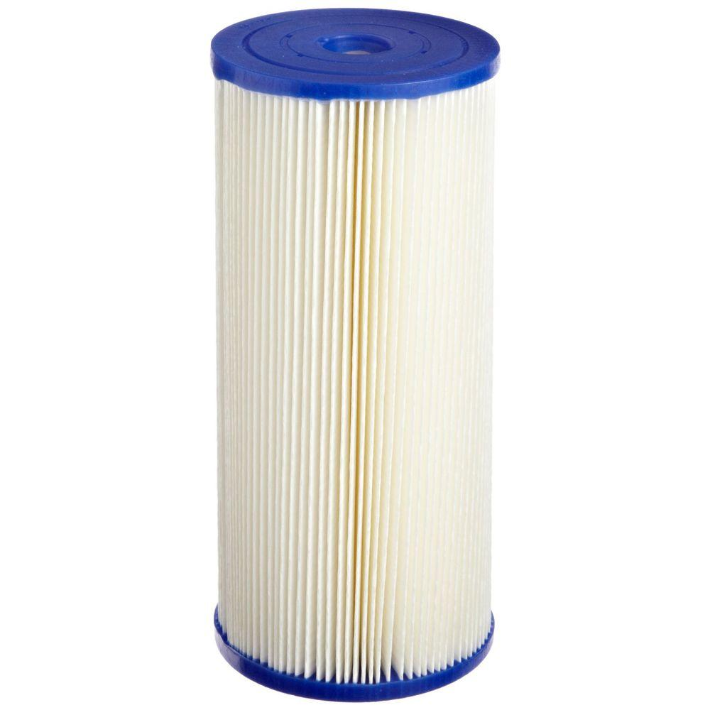"1 Micron 20/"" Big Blue Pleated Sediment Water Filter Replacement Cartridge Filter"