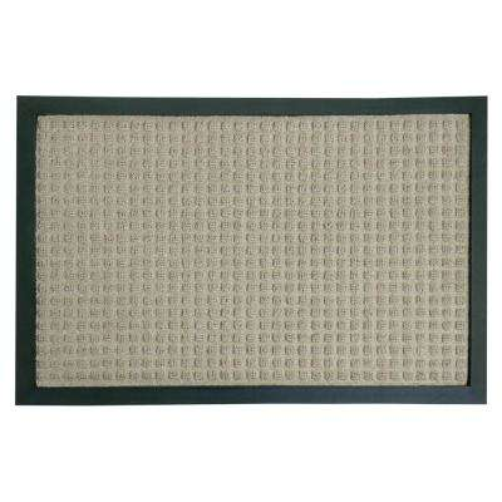 Nottingham Tan 36 in. x 60 in. Rubber Backed Carpet Mat