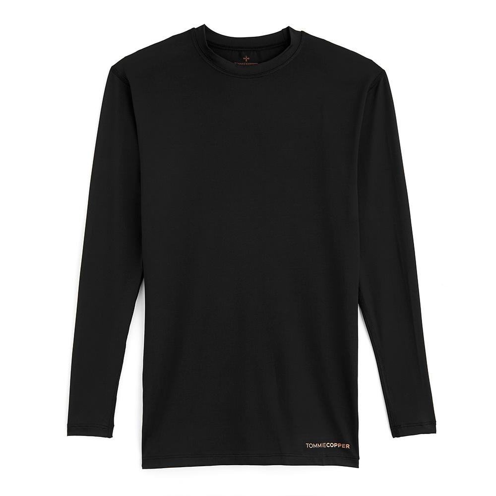 X-Large Men's Recovery Long Sleeve Crew, Size: XL, Brown