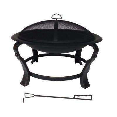 Ashcraft 30 in. Steel Round Fire Pit