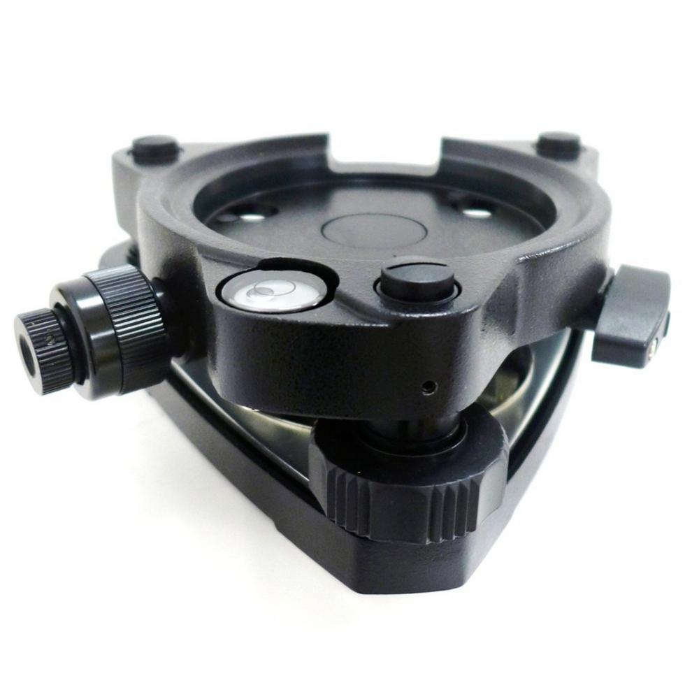 AdirPro Twist Focus Black Tribrach with Optical Plummet