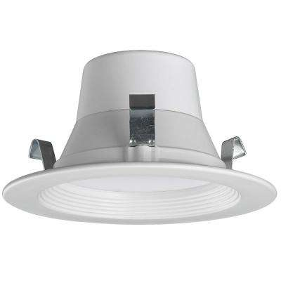 Bluetooth 4 in. 60-Watt Equivalent Integrated LED Recessed Downlight Trim Multi Color Temperatures 2700K-5000K Dimmable