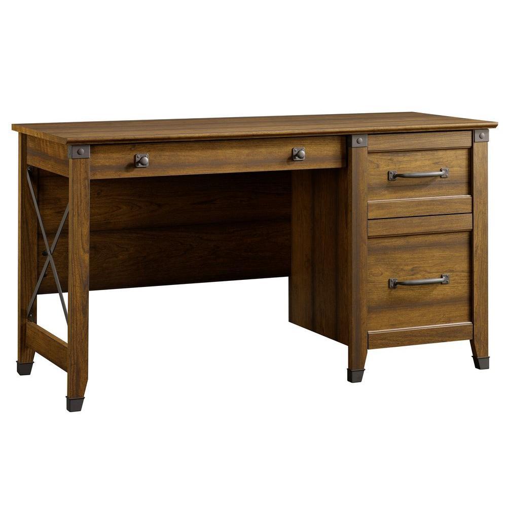 b34974e44f3 sauder carson washington cherry desk 412920 the home depot rh homedepot com  home computer desks office