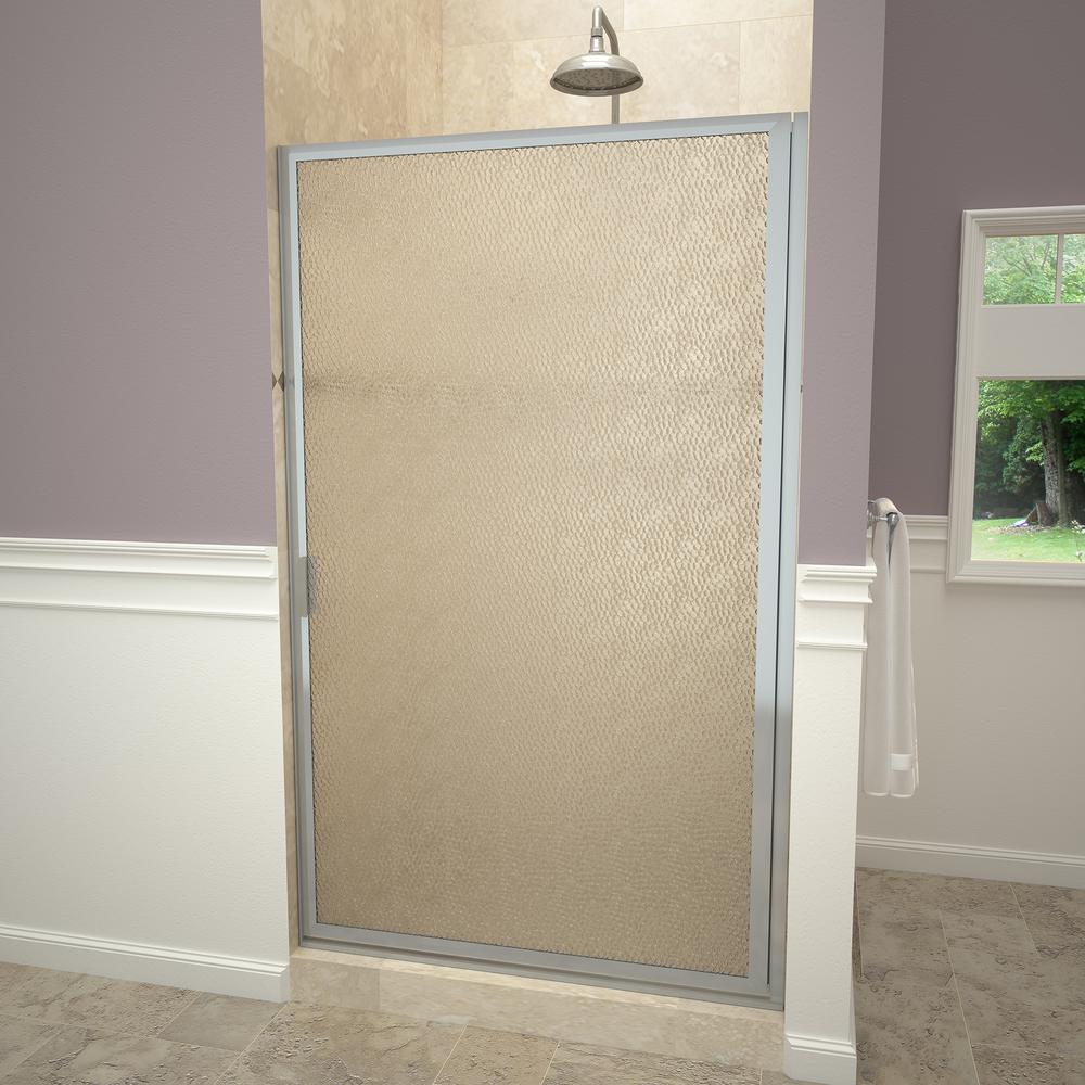 Redi swing 1100 series 29 7 8 in w x 63 1 2 in h framed - Obscure glass windows for bathrooms ...
