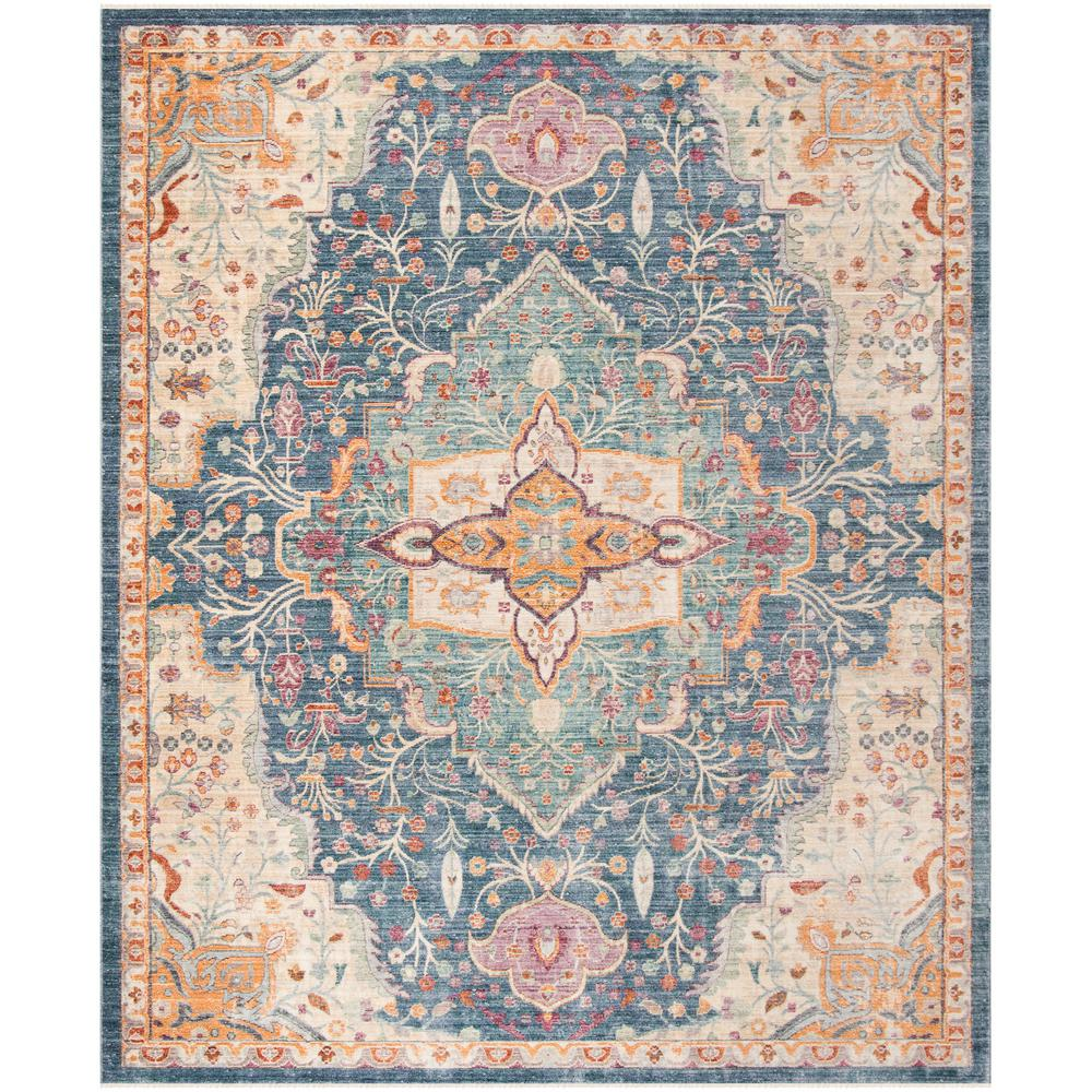 Safavieh Illusion Bluepurple 9 Ft X 12 Ft Area Rug Ill707h 9