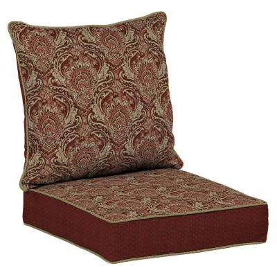 Venice 2-Piece Deep Seating Outdoor Lounge Chair Cushion