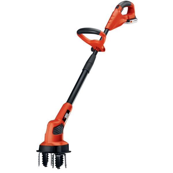 7 in. 20-Volt MAX Lithium-Ion Cordless Garden Cultivator/Tiller with 1.5Ah Battery and Charger Included
