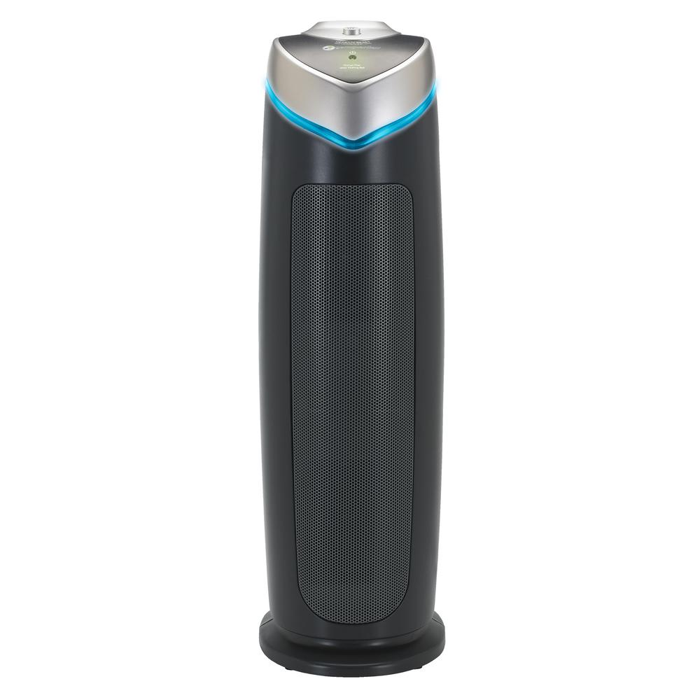 germguardian 3 in 1 true hepa air purifier with uv sanitizer and