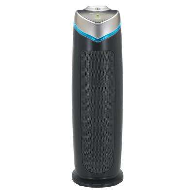3-in-1 True HEPA Air Purifier with UV Sanitizer and Odor Reduction, 22 in. Tower