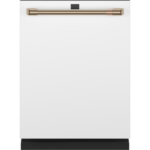 Smart Top Control Tall Tub Dishwasher in Matte White with Stainless Steel Tub, Fingerprint Resistant, 39 dBA