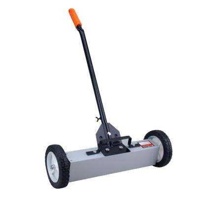22 in. Magnetic Sweeper with Easy Clear One-Pull Release