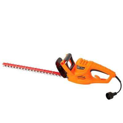 4.2 Amp Corded Hedge Trimmer with 18 in. Laser Cutting Blade and Blade Cover