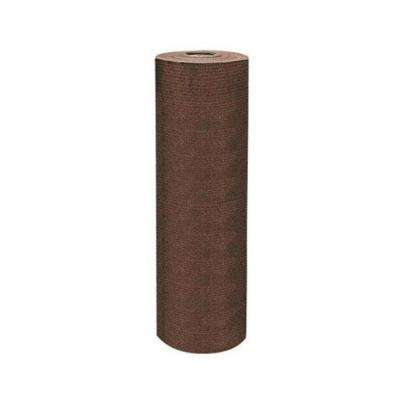 6 ft. x 150 ft. Heavy-Duty Sun Screen Fabric Shade Canopy in Chocolate