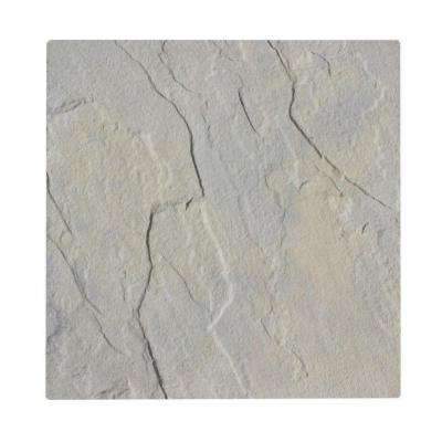 Patio-on-a-Pallet 18 in. x 18 in. Concrete Gray Variegated Traditional Yorkstone Paver (Pallet of 64-Pieces)