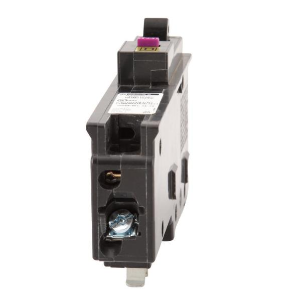 Circu CAFCI and GFCI Homeline 15 Amp Single-Pole Plug-On Neutral Dual Function