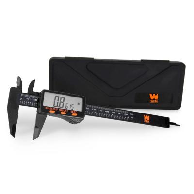 6.1 in. Electronic Digital Caliper with LCD Readout and Storage Case