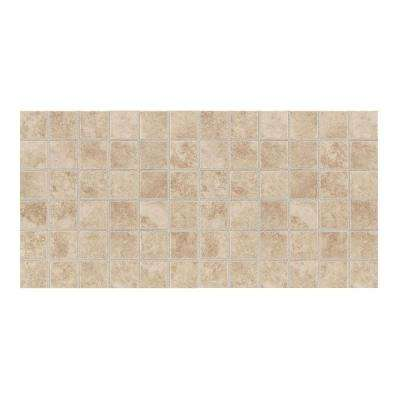 Salerno Cremona Caffe 12 in. x 24 in. 8 mm Ceramic Mosaic Floor and Wall Tile (24 sq. ft. / case)