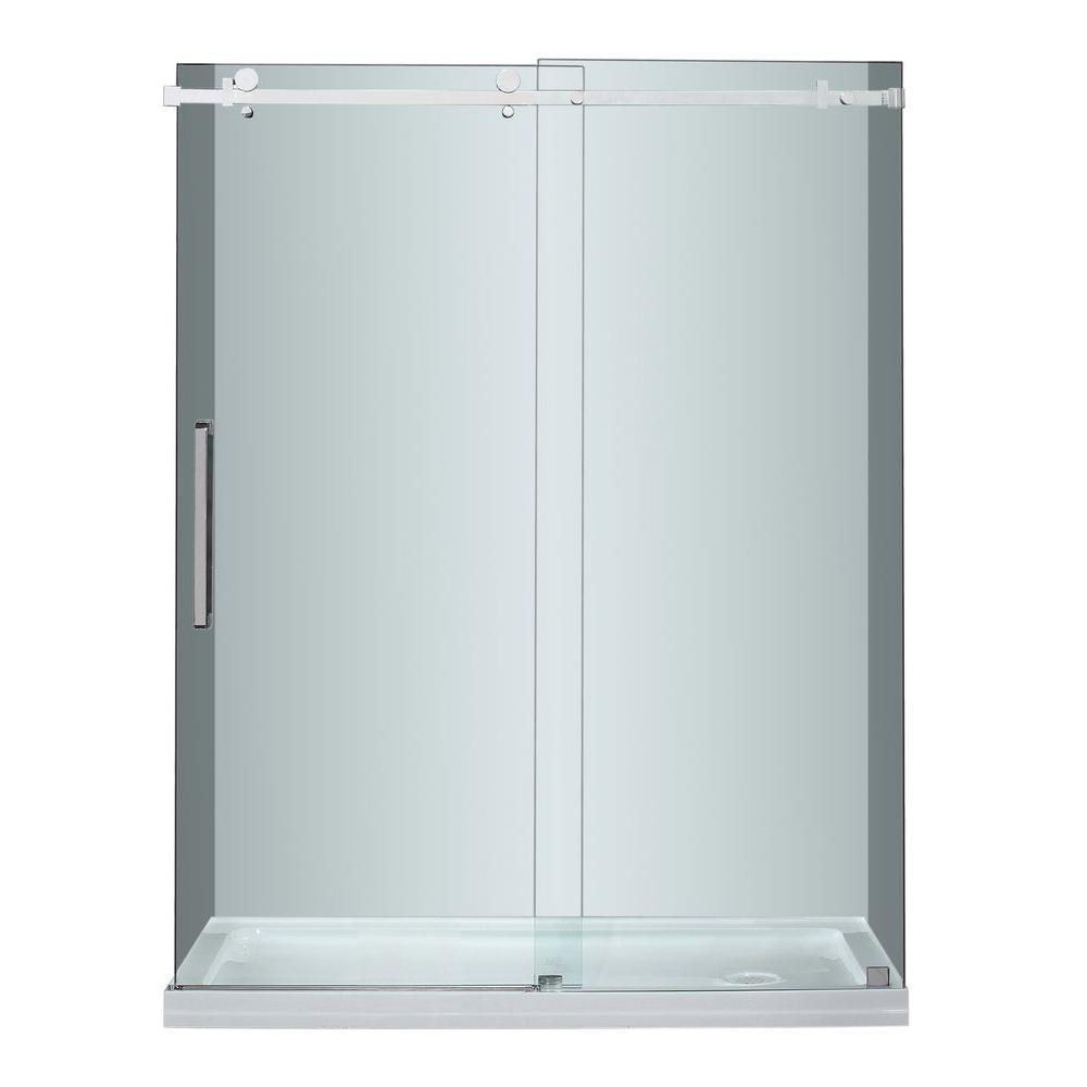 STERLING Ensemble 32 in. x 60 in. x 74-1/2 in. Shower Stall with Age ...