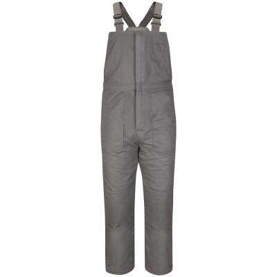 EXCEL FR ComforTouch Men's X-Large (Short) Grey Deluxe Insulated Bib Overall