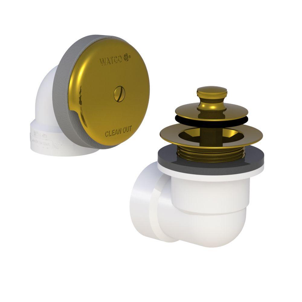 Watco 601 Series Sch. 40 PVC Bath Waste Half Kit - Push Pull