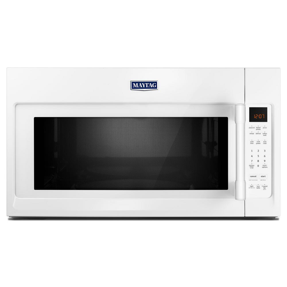 Maytag 2.0 cu. ft Over the Range Microwave Hood in White