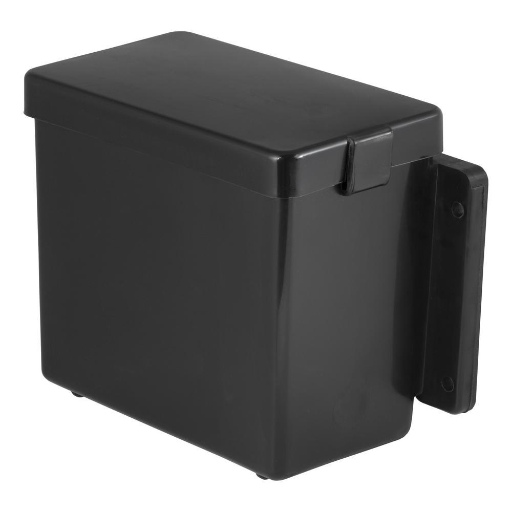 "CURT 6"" x 5-1/2"" x 3-1/4"" Breakaway Battery Case with Lockable Tab"