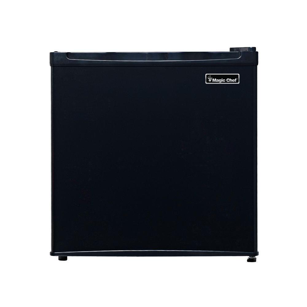 Magic Chef 1.6 cu. ft. Mini Refrigerator in Black ...