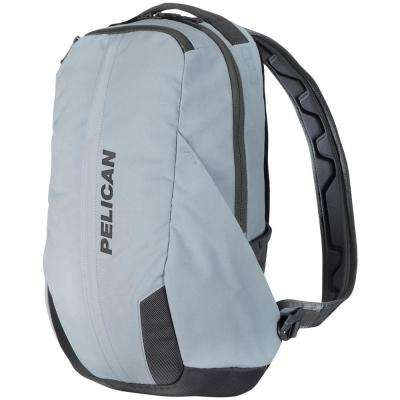 21.66 in. Gray Lightweight Backpack with Water-Resistance