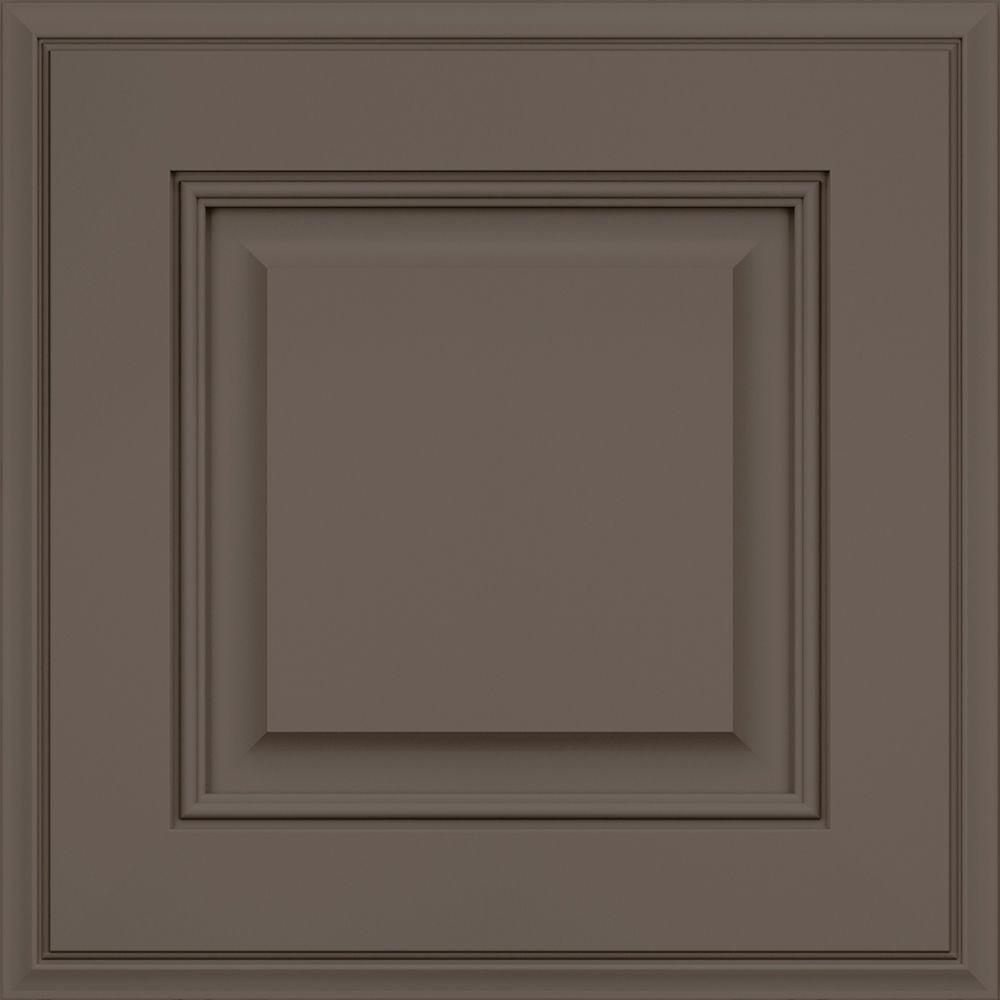 Kitchen Cabinet Door Replacement Options: KraftMaid 15x15 In. Cabinet Door Sample In Jackson Maple