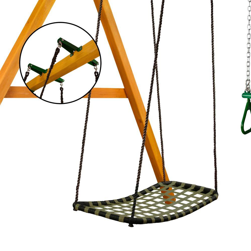 Gorilla Playsets Chill 'N Swing with Brackets