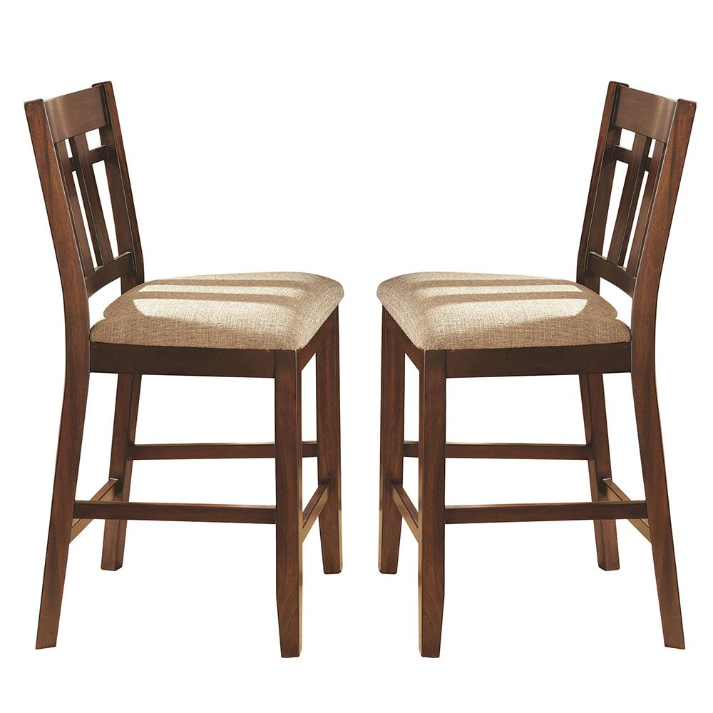 Steve Silver Company Bolton 42 in. Brown Counter Chair (S...