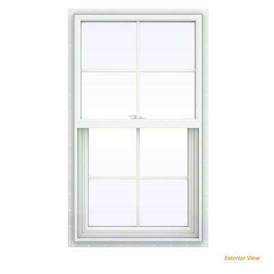 V 2500 Series White Vinyl Single Hung Window