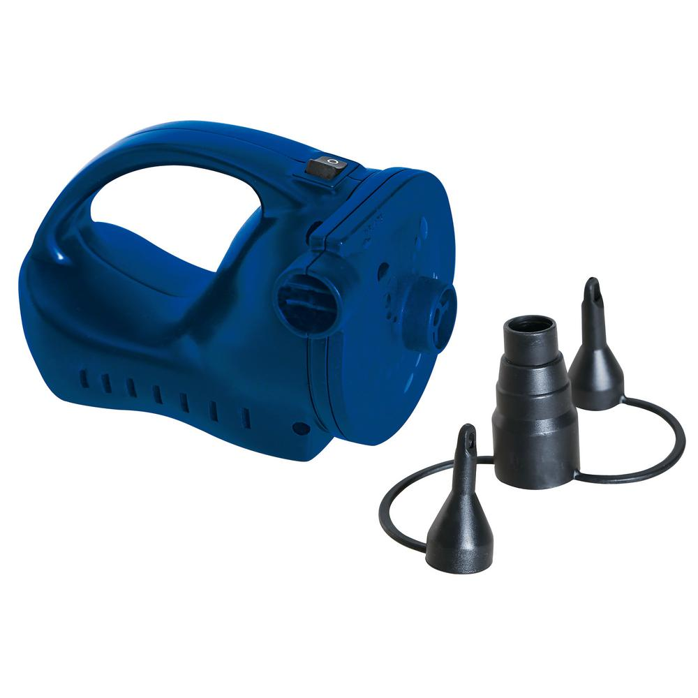 Whirlwind Rechargeable Electric Air Pump, Includes 115-Volt AC Home Charger and