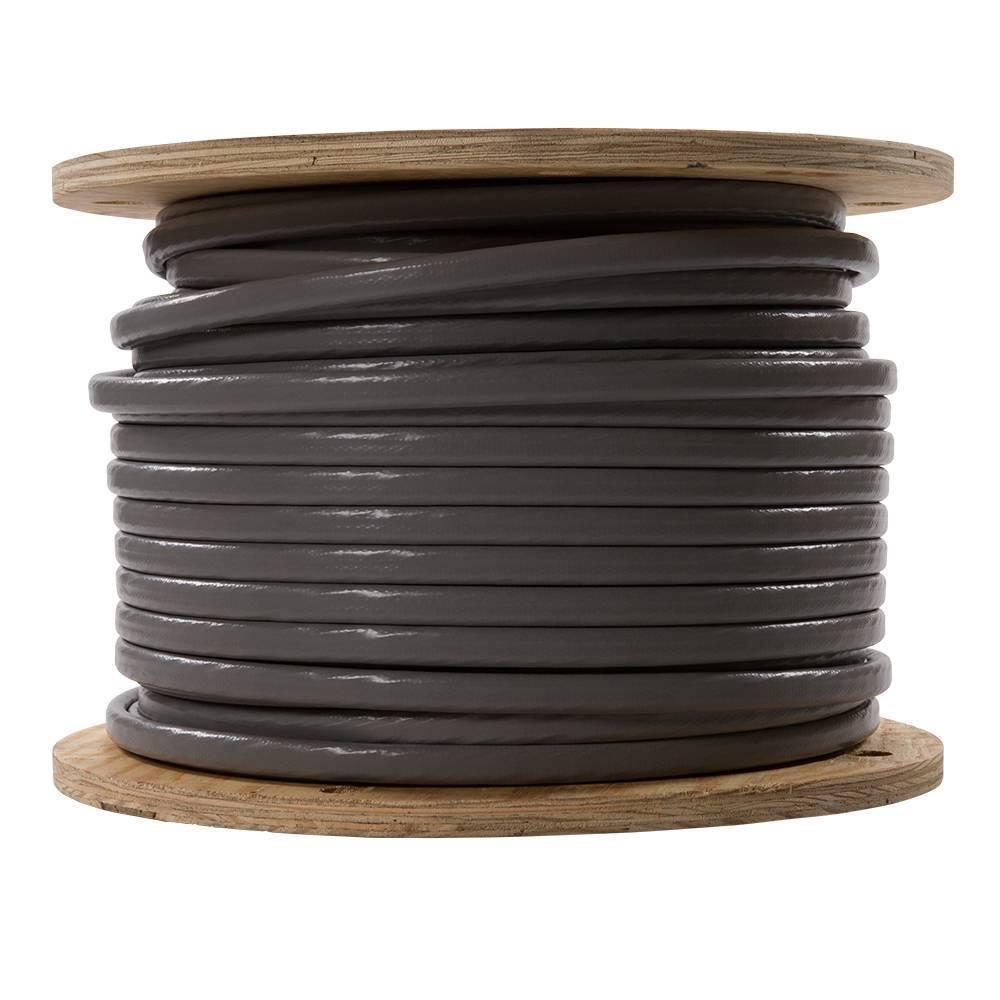 500 ft. 4-4-6 Gray Stranded AL SEU Cable