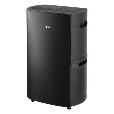 50-Pint Dehumidifier with Bucket, Pump and WiFi_PuriCare