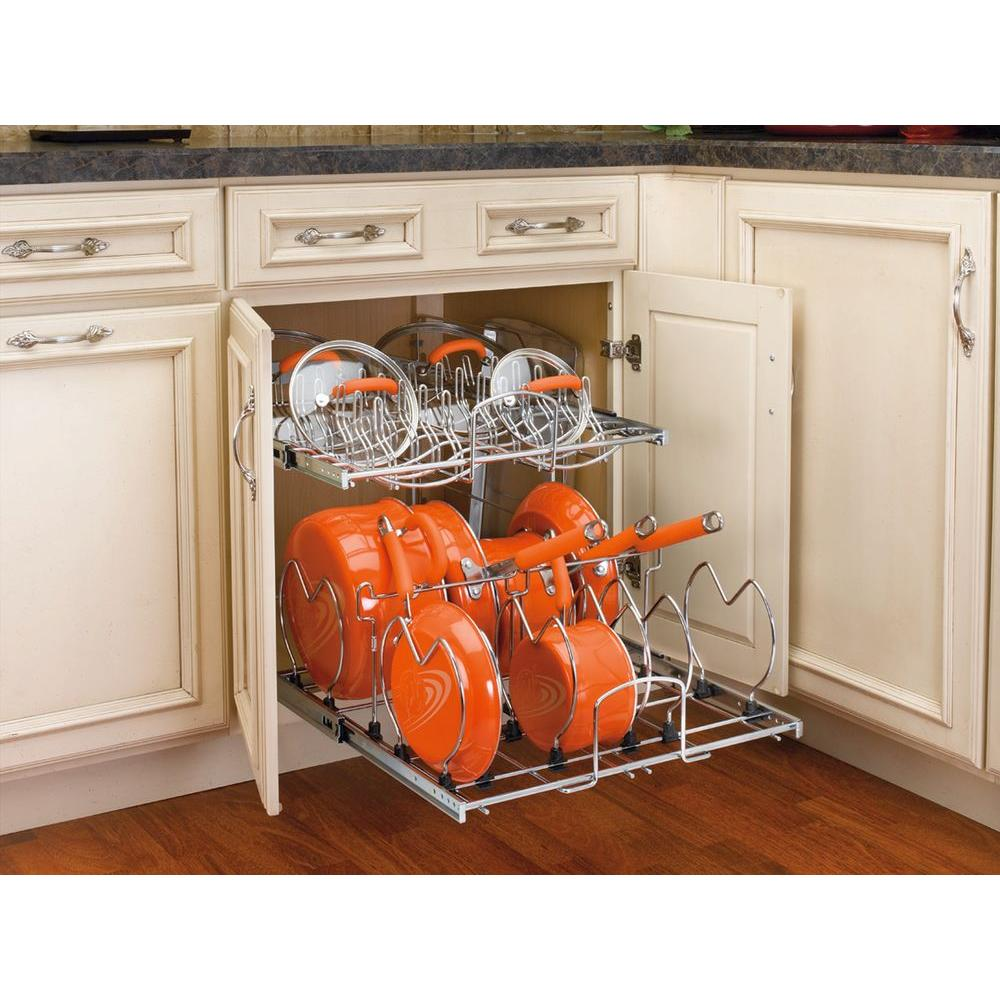 Kitchen Cabinet Pull Out Organizer: Rev-A-Shelf 18.13 In. H X 20.75 In. W X 22 In. D Pull-Out