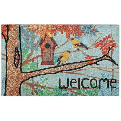 Prism Garden Multi 18 in. x 30 in. Door Mat