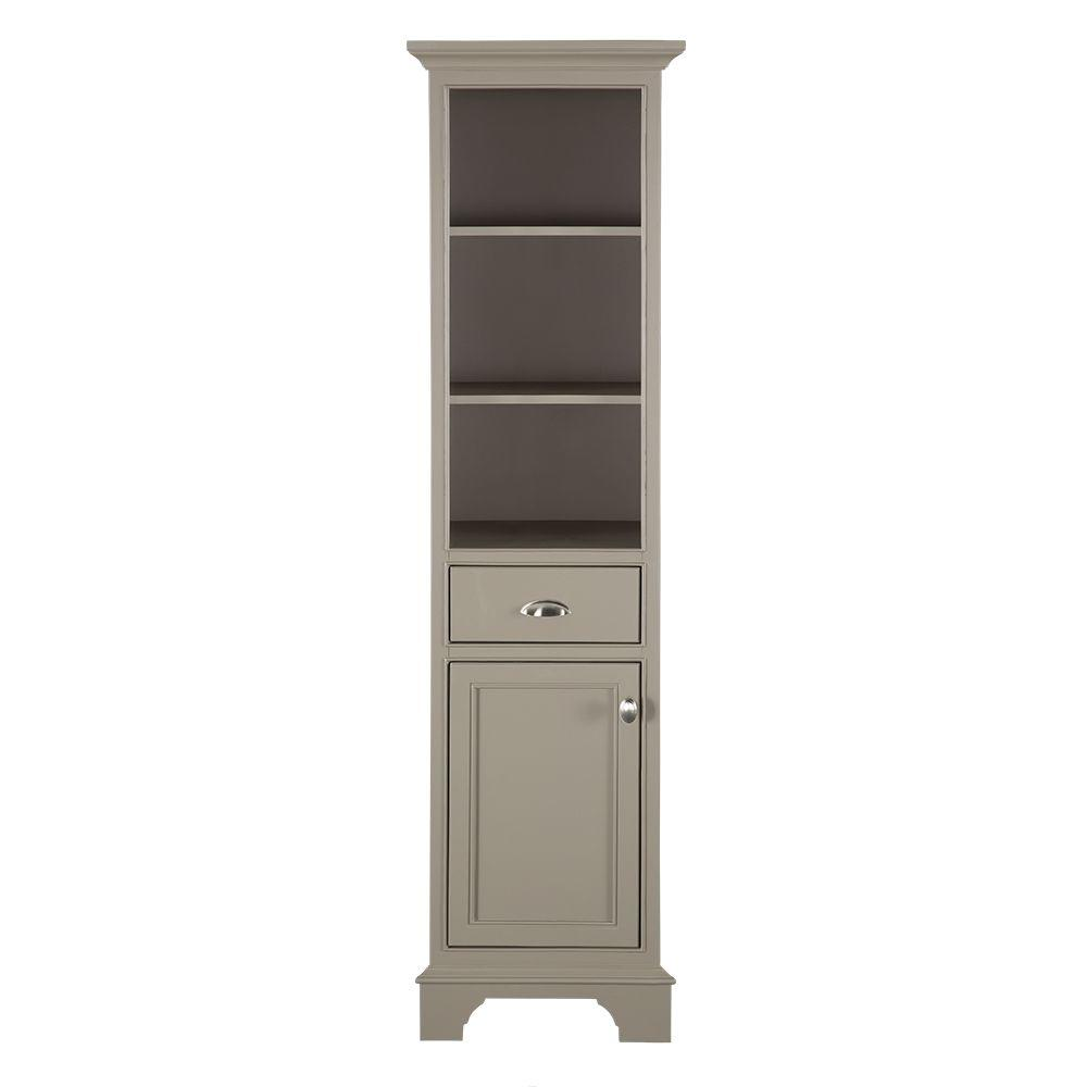 Home decorators collection hayward 18 in w x 14 in d x 67 1 2 in h bathroom linen storage Home rental furniture hayward