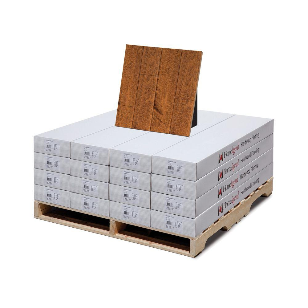 Home Legend Hand Scraped Maple Messina 3/8 in. T x 4-3/4 in. W x 47-1/4 in. L Hardwood Flooring (399.04 sq.ft/pallet)-DISCONTINUED
