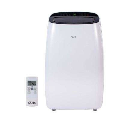 14,000 BTU 115-Volt Portable Air Conditioner with Remote Control and Dehumidifier in White