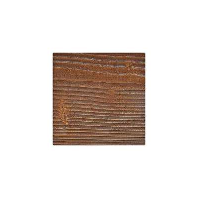 6 in. x 6 in. Sandstone Pecan Endurathane Faux Wood Ceiling Beam Material Sample