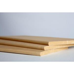 3/4 in. x 11-1/4 in. x 8 ft. Bullnose Shelving MDF Board