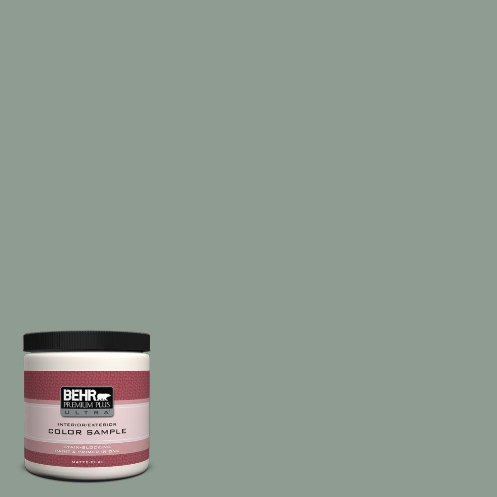 8 oz. #ICC-104 Balsam Fir Interior/Exterior Paint Sample