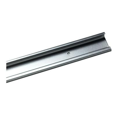 ShelfTrack 40 in. Nickel Hang Track