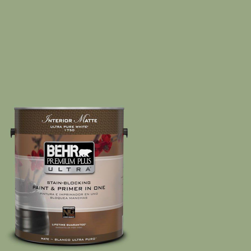 1 gal. #M380-5 Hillside Grove Matte Interior Paint
