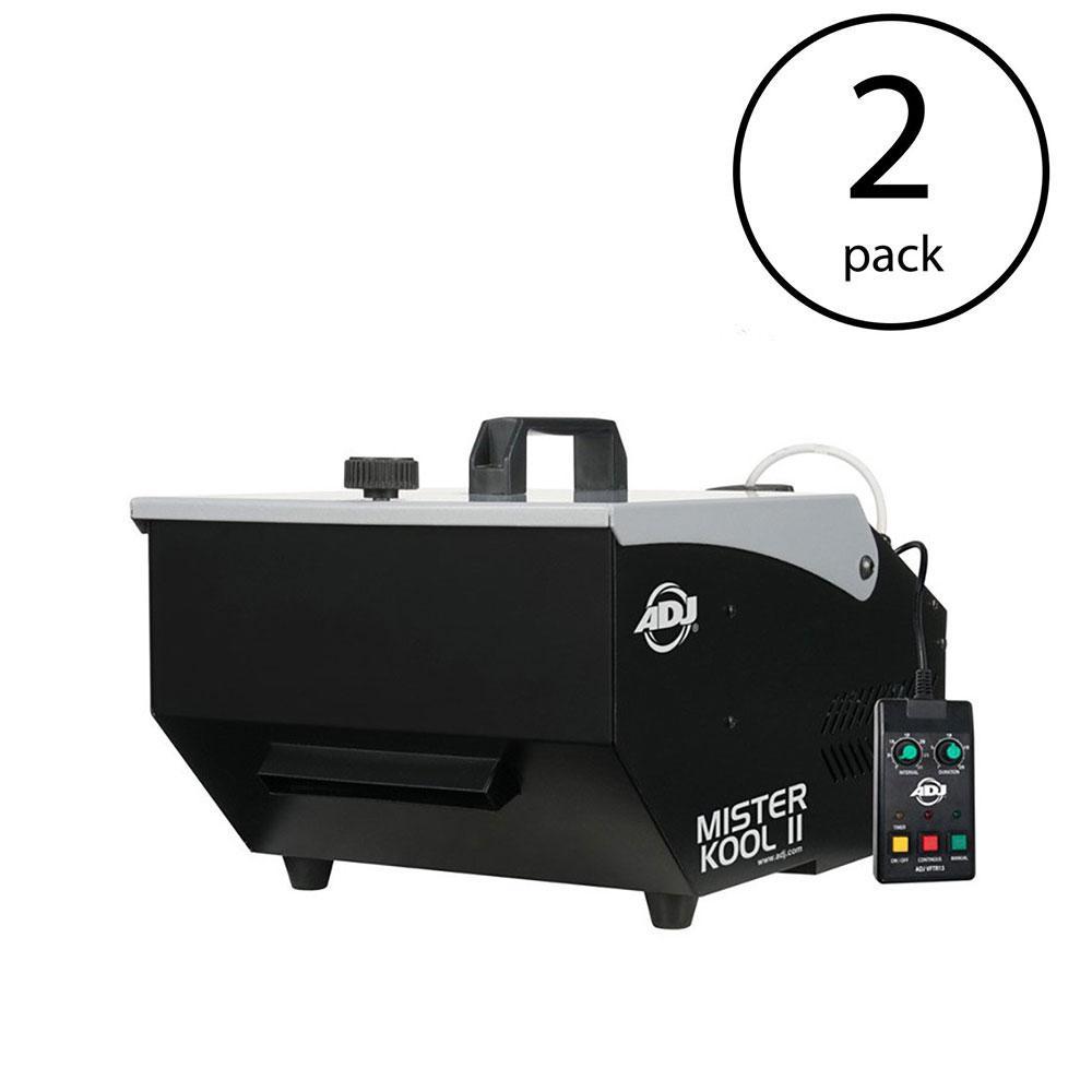 Low Lying Water Based Smoke Fog Machine (2-Pack)