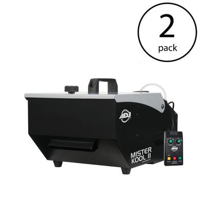 Low Lying Water Based Smoke Fog Machine (2-Pack)