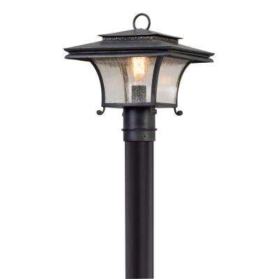 Grammercy Outdoor Forged Iron Post Light