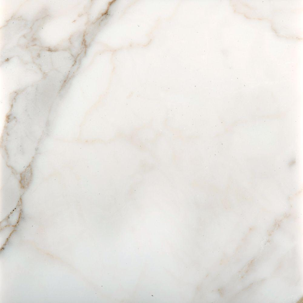 Emser Calacata Oro 12 in. x 12 in. Marble Floor and Wall Tile
