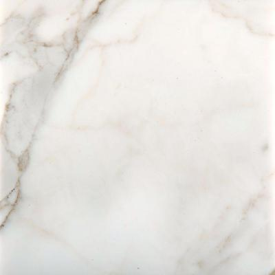 Calacata Oro 12 in. x 12 in. Marble Floor and Wall Tile